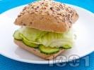 Рецепта Сандвич с гъши пастет и айсберг